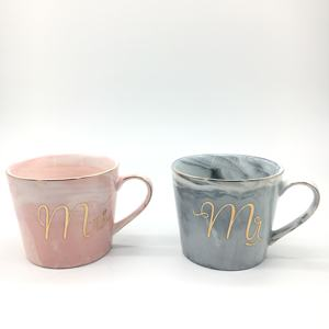 Ceramic Mugs Cup With Handle Coffee Couples Cups