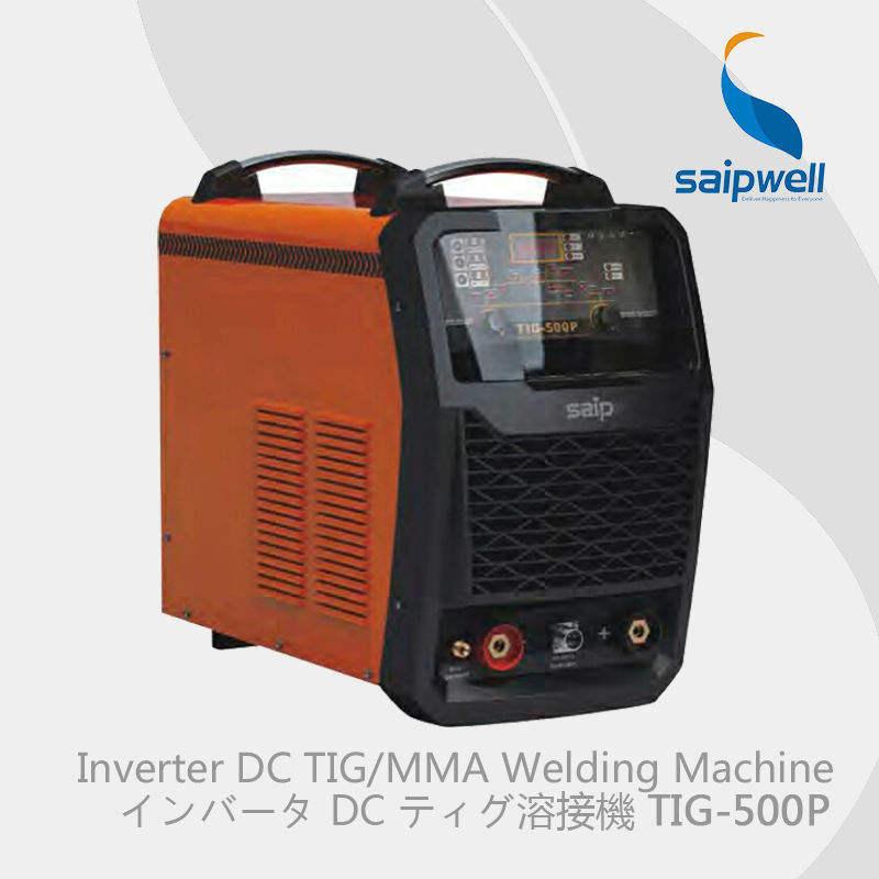 Saipwell miller kaynak makinesi fiyat Inverter DC TIG/MMA Kaynakçı (TIG-500P)