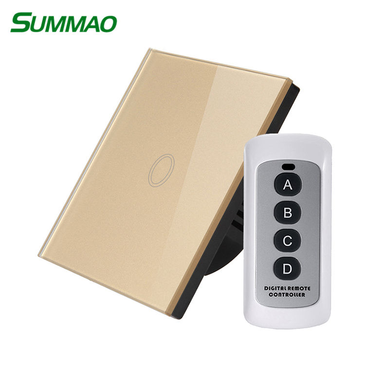 220 볼트 Remote Switch Remote Control Dimmer Rf 433 백만헤르쯔 무선 빛 Switch