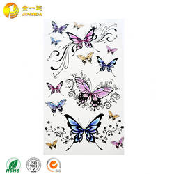 Promotional Custom Temporary Tattoo Sticker For Body