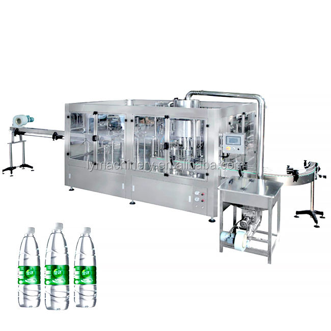 Automatic Liquid Water / Bottled water/Carton Aseptic Juice Filling Machine