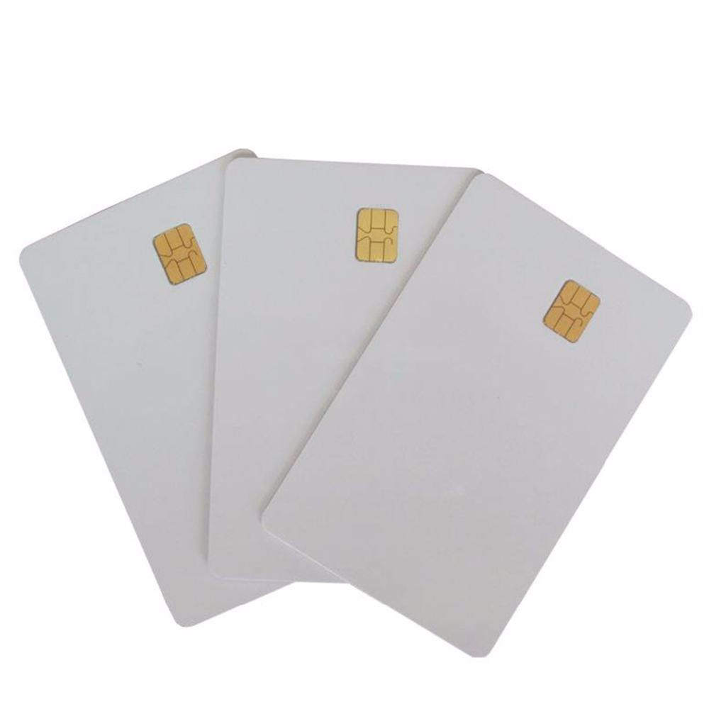 plastic contact SLE5528 smart card