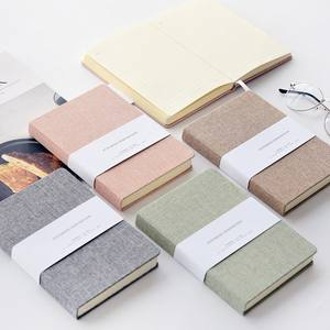 Best selling a5 school stationary canvas notebook cover