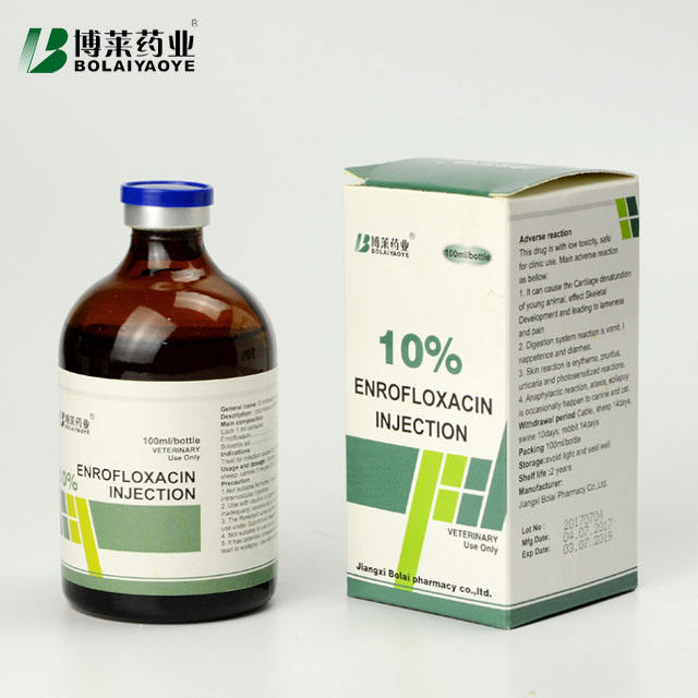 10%enrofloxacin injection vet medicine