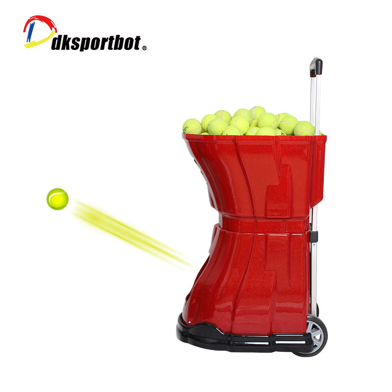 Remote control tennis ball machine ,tennis training machine,shooting machine /tennis robot with full functions