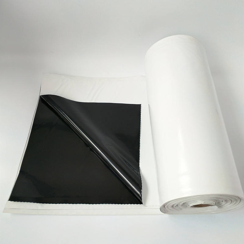 Black/White Polyethylene Custom Lumber Shrink Warp Rolls Supplier