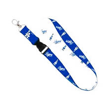 MLB National League West Los Angeles Dodgers lanyards with Detachable buckle