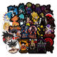 100 Pcs Dragon Ball Waterproof Stickers For Car Laptop Skateboard Bicycle Luggage Pvc Waterproof Decal Sticker sticker