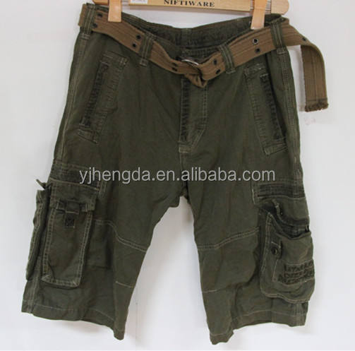 shorts cargo pants sorted used clothing for african market