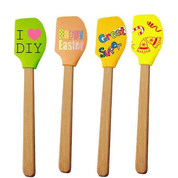 Different types of spatula silicone