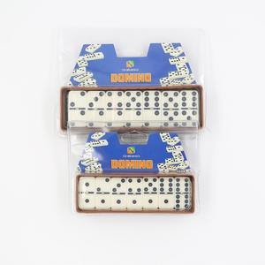 Double six dominos ensemble Double Six rallye domino avec Spinner domino en gros