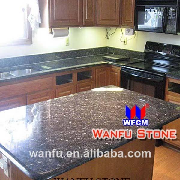 2014 pré coupé comptoirs en granit de cuisine à domicile
