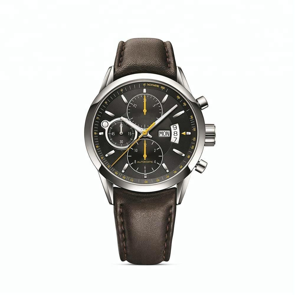 Fashion custom design watch oem mens watches automatic waterproof watch supplier