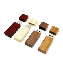 Hot Selling Personalized Custom Wooden USB Flash Drive Engraved Wedding Gift 4GB 8GB 16GB