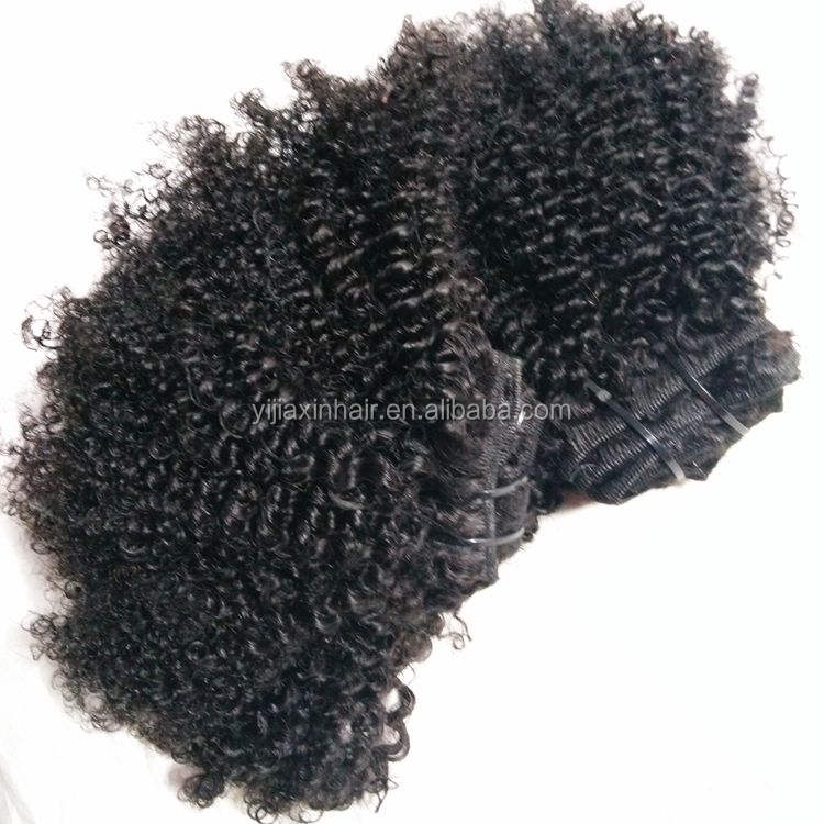 Large stock hot selling cheap natural raw virgin cambodian 3c 4c afro kinky curly human hair weave bundles fast shipping