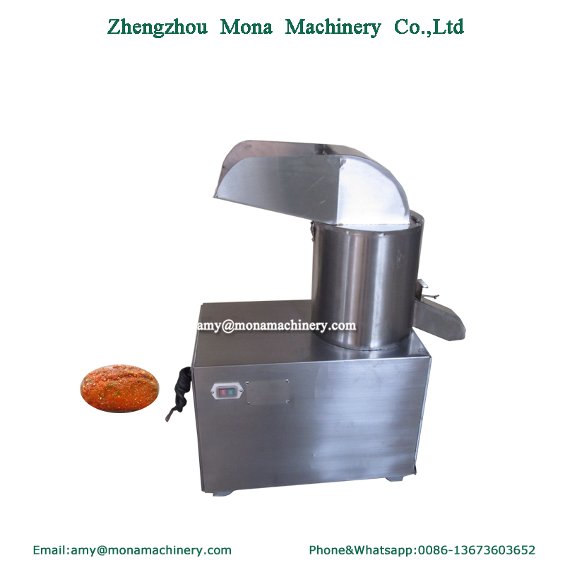 Factory Direct Supplier mashed garlic ginger pepper machine/vegetable grinding machine/ginger paste making machine