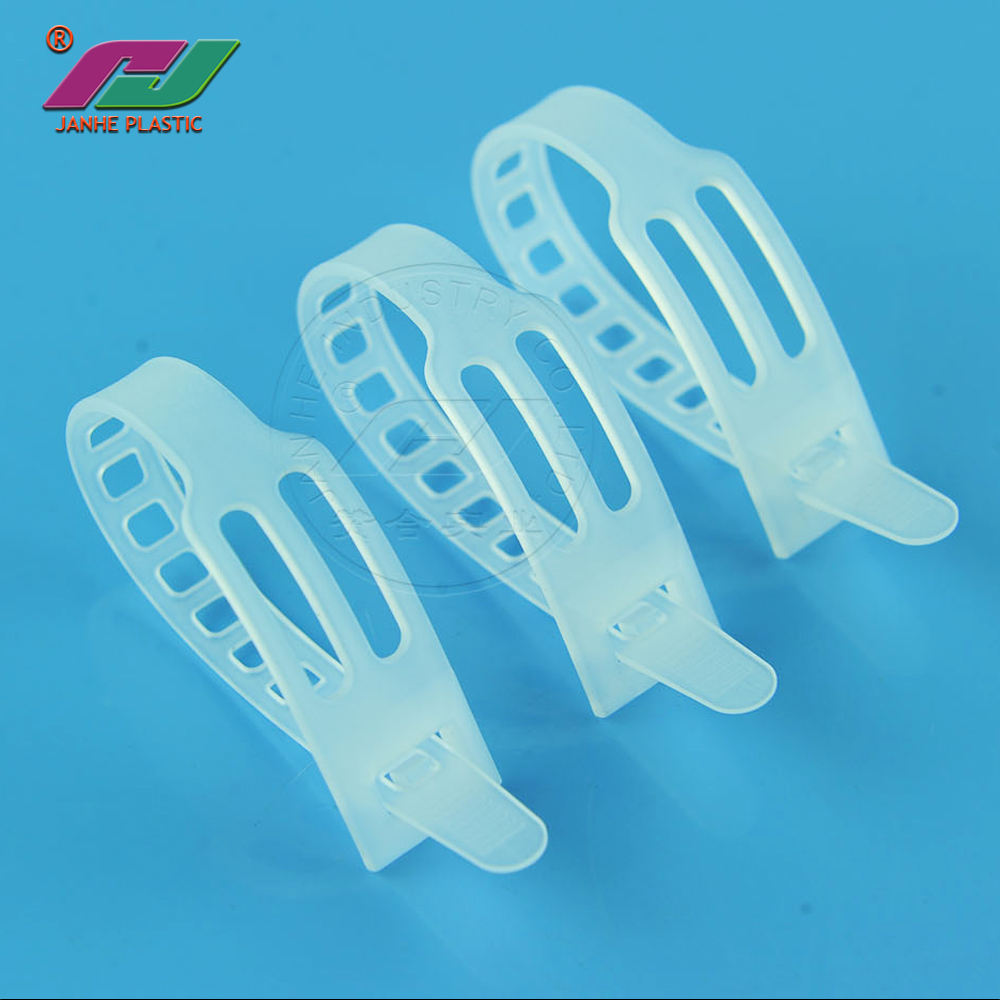 Selling good factory directly eco friendly pe fish bone shaped cable ties