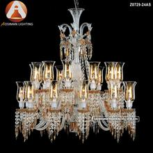 Baccarat Style Lighting Crystal Chandelier Ceiling Lustre Designer Pendant Lamp