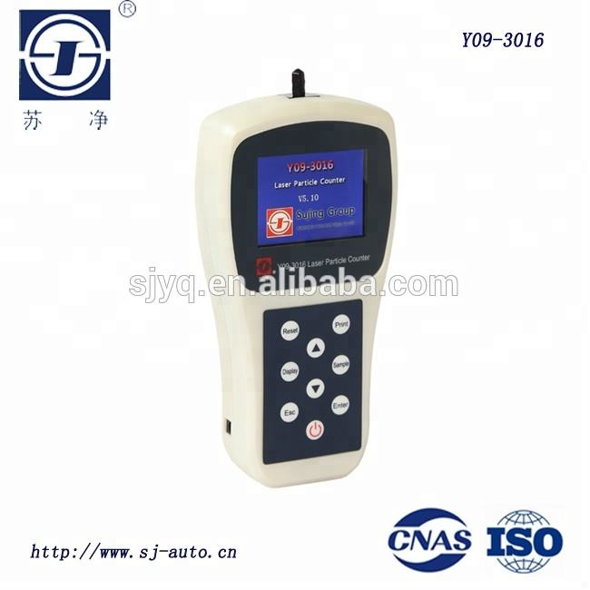 6 Channel Handheld Air Particle Counter Dust Counter