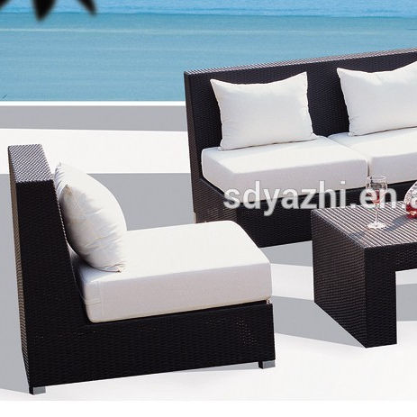 outdoor plastic sofa/exclusively for outdoor using round sofa
