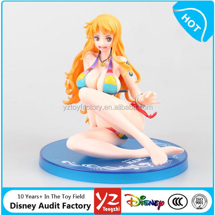 Nuevo en caja Anime Japón figura Sexy Nami PVC figura de acción de juguete fabricante