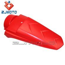 FD-106-RD Red ZJMOTO chinese motorcycle body kit Supermoto rear mud guard universal motorcycle plastic rear fender