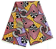 100% Cotton wax printing african super hollandais fabric sale