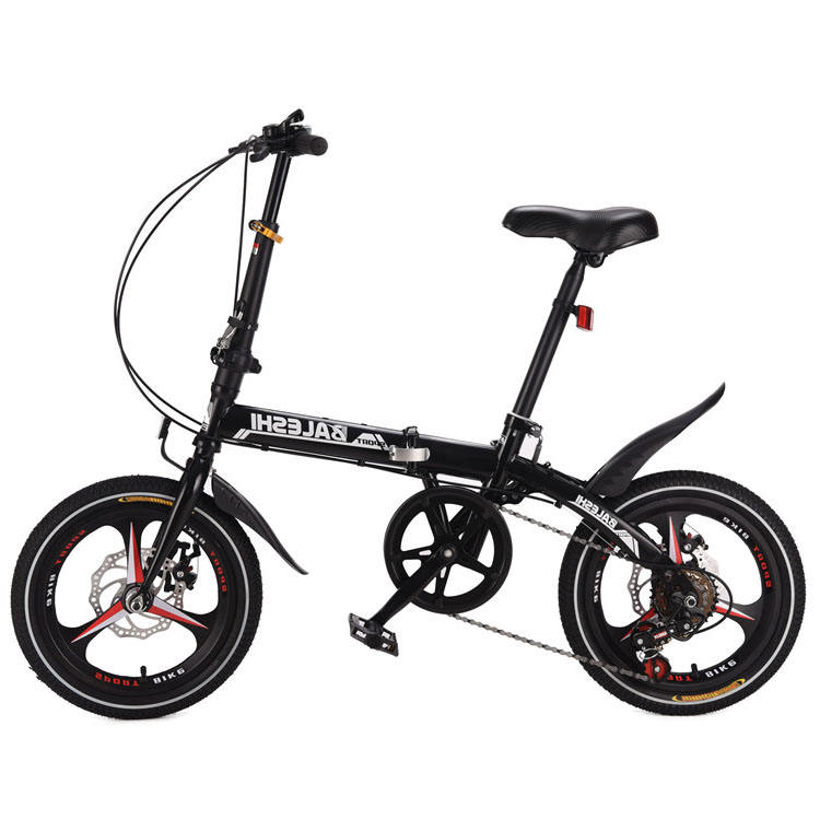 2020 light alloy material 14 16 18 20 24 26 inch folding bike on sale 2 wheels mini folding bike Cute portable bicycle for sale