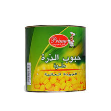 A9 Canned sweet corn 2125g big size can for Eroup market