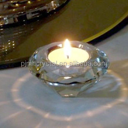 wedding centerpiece decoration stand tealight holder Crystal diamond candle