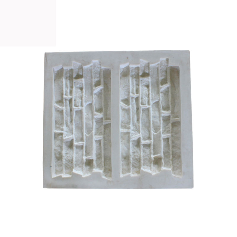 Silicone Made culture stone Artificial Stacked Stone Veneer Mold