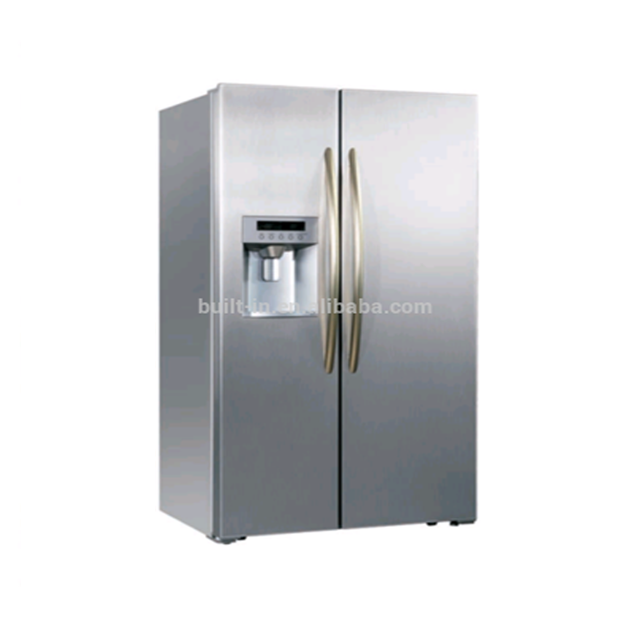 With Ice maker and Water dispenser/Built-in fridge/side by side 550 L