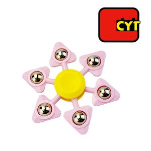 Thiết kế mới điên không khí spinner toy với movable kim loại bóng