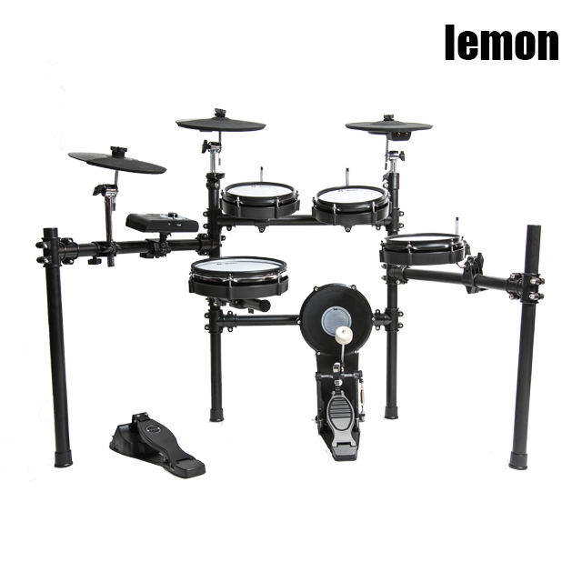 Lemon T500 8-piece mesh head expandable electronic drum set