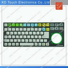 OEM membrane keyboard with PCB