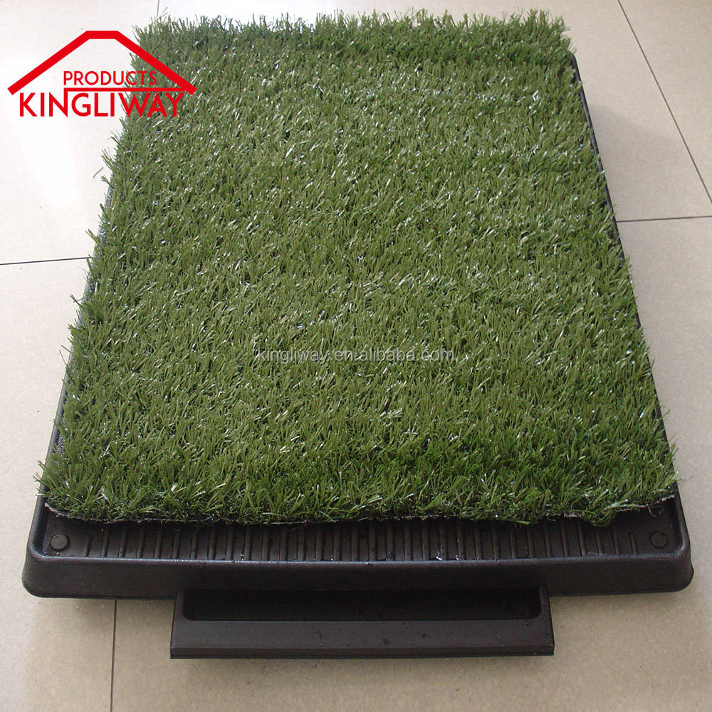 HH-208A High quality PP Plastic and Synthetic Sod(PE) Pet potty