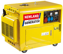 186Fa 5Kw Air-Cooled Electric Diesel United Power Generator
