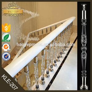 Injection Molding Acrylic Baluster For Stair Railing
