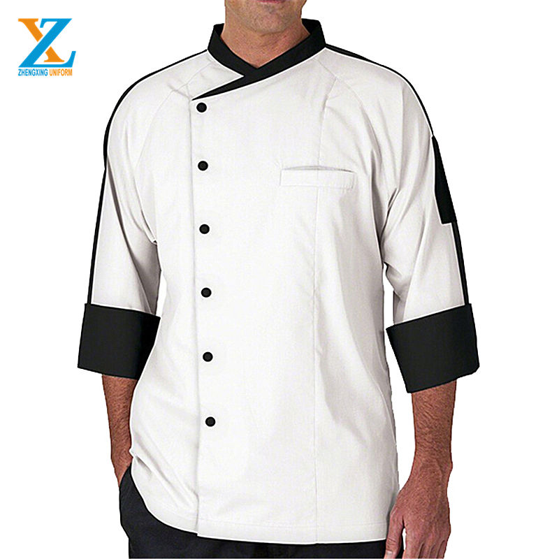 Wit Kok Jas/Chef <span class=keywords><strong>Uniform</strong></span>/Mannen Chef Jassen