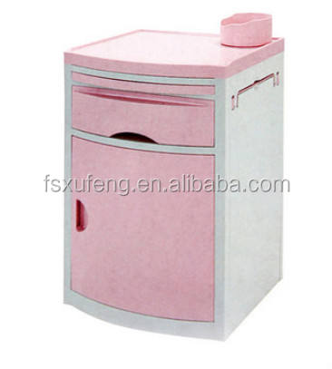 Good Quality Hospital ABS plastic bedside cabinet/bedside locker