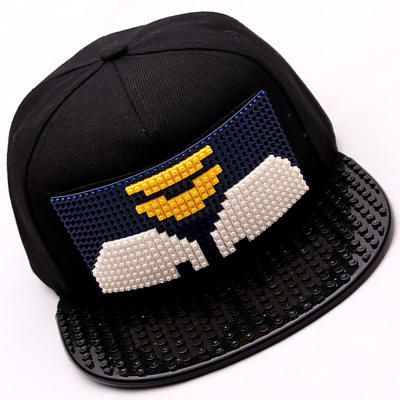 Lego 5 Panel Cap With Your Own Custom Pattern Children Toy Cap Lego Hat