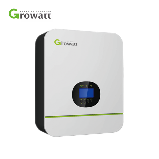 IR-136 Growatt Home Use Single Phase PV Off Grid Solar Power Inverter 3kw 5kw
