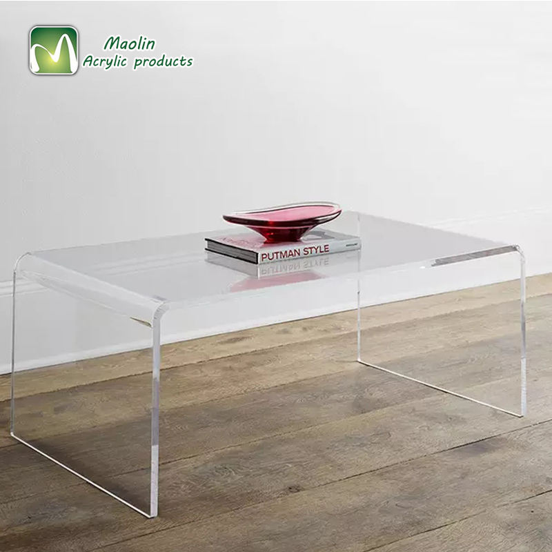 Hot Sale Simple Design Acrylic Coffee Bar Console Table