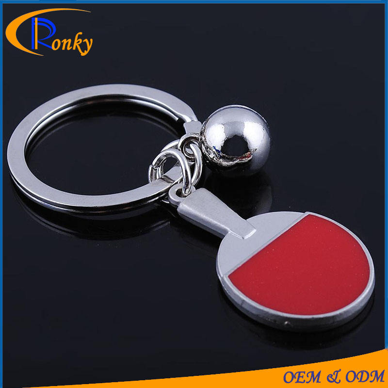 New gadgets 2016 promotion table tennis ball sports keychain personalized gifts