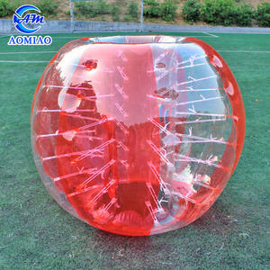 Hot sale crazy inflatable human bubble suit inflatable bumper ball for kids