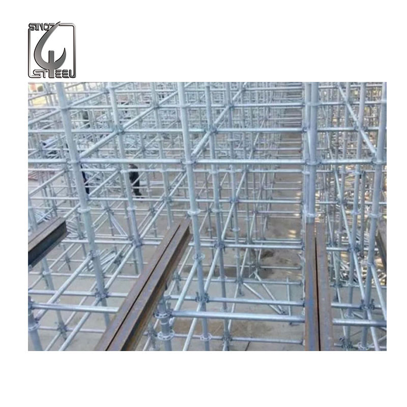 Layher Allround Scaffolding Vertical Ringlock Power Coated Scaffolding System