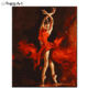 Spanish Dancer Painting Paint by Numbers DIY Art Gift High Quality DIY Digital Painting