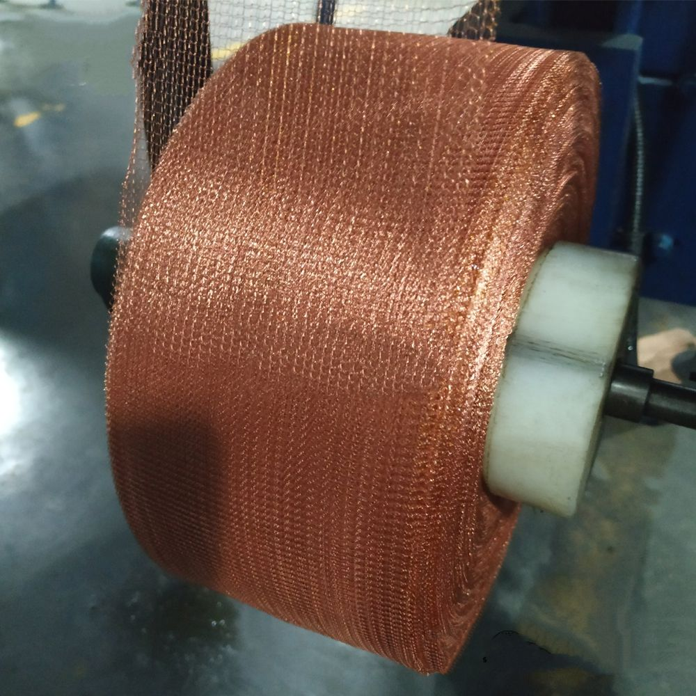Factory Direct Pure Copper Knitted Wire Mesh