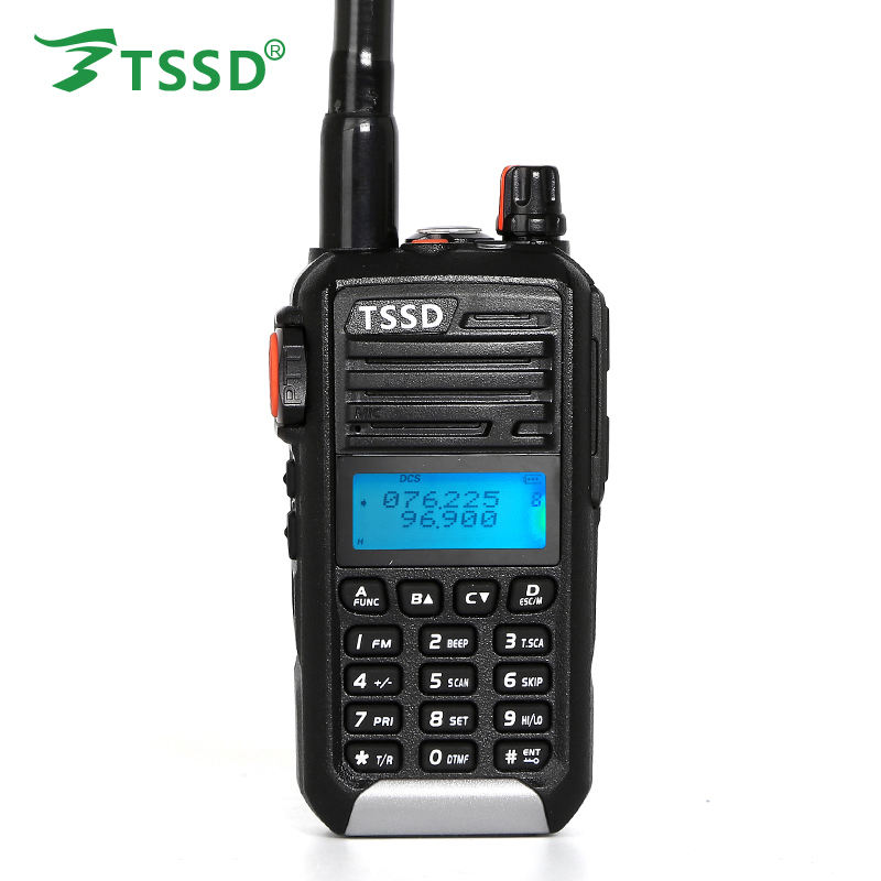 VHF 66-88mhz radio TSSD TS-M588 made in China 5W walkie talkie