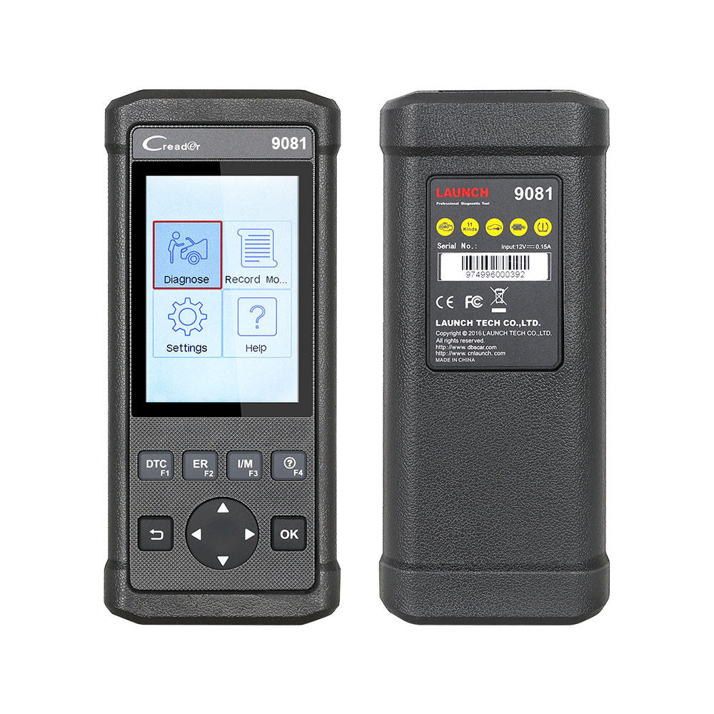 Launch CReader 9081 Diagnostic tool OBD2-Buy7days 와 다국어 언어 X431 CR9081 Support ABS/SAS Systems